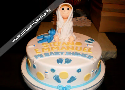 torta baby shower niño 1 lima