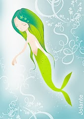 mermaid green