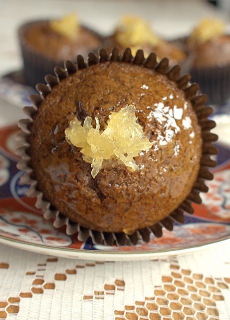 Jamaican Ginger Cupcakes - the classic cake in cupcake form