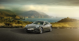 Porshe luxury sports car