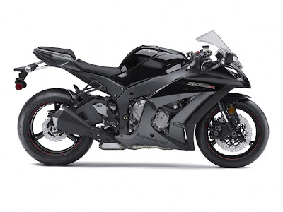 2012 Kawasaki Ninja ZX 10R ABS Black Color