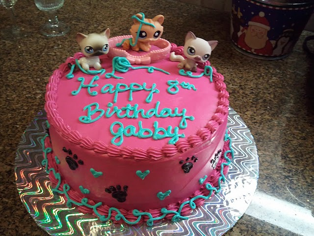 Sweet Creations By Heather Littlest Pet Shop Kitty Cat Birthday Cake