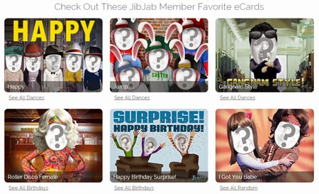 Crea fotomontajes online en video con JibJab