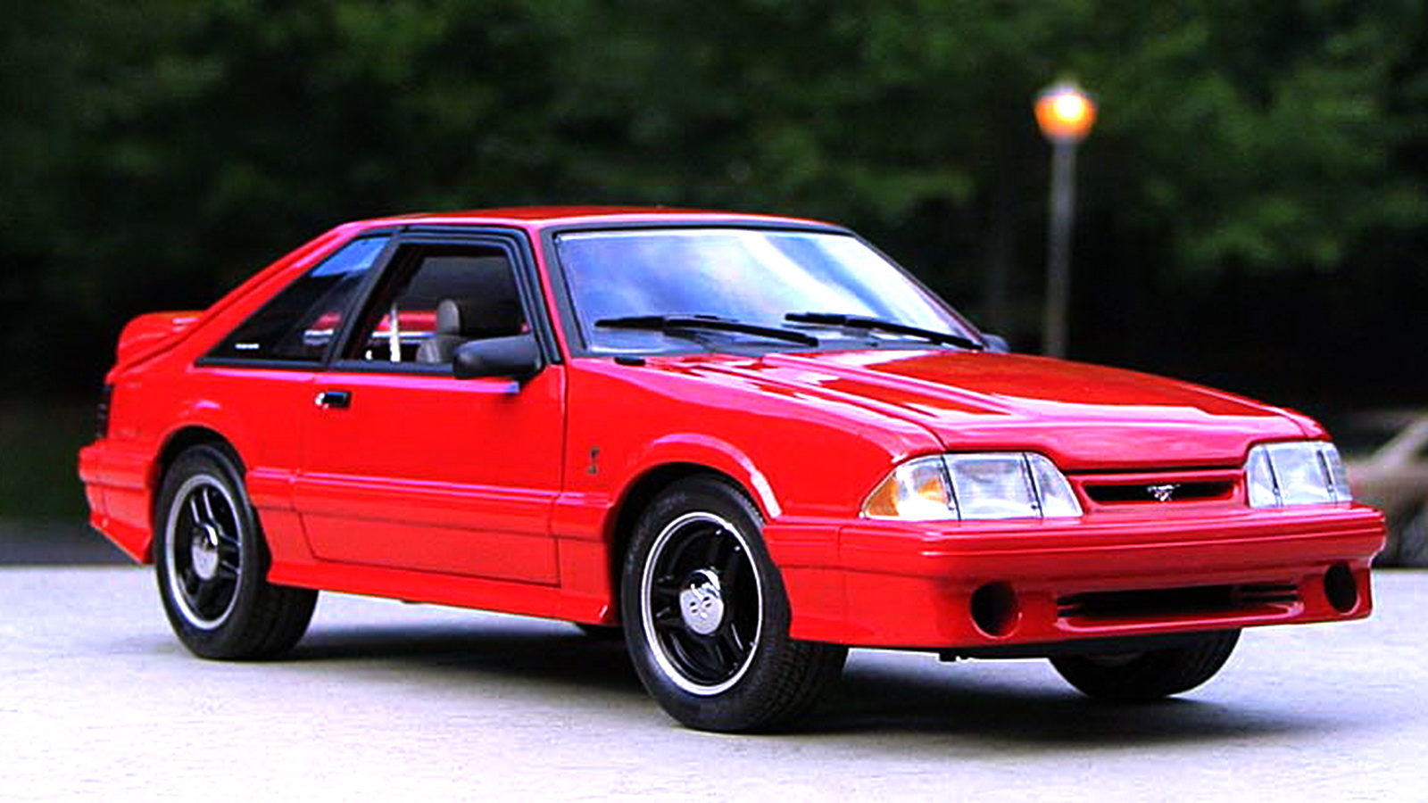 Fastest ford mustangs part 2 1993 svt mustang cobra r - Mustang cobra ...