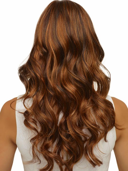 4 Styles For Brown Hair With Blonde And Red Highlights