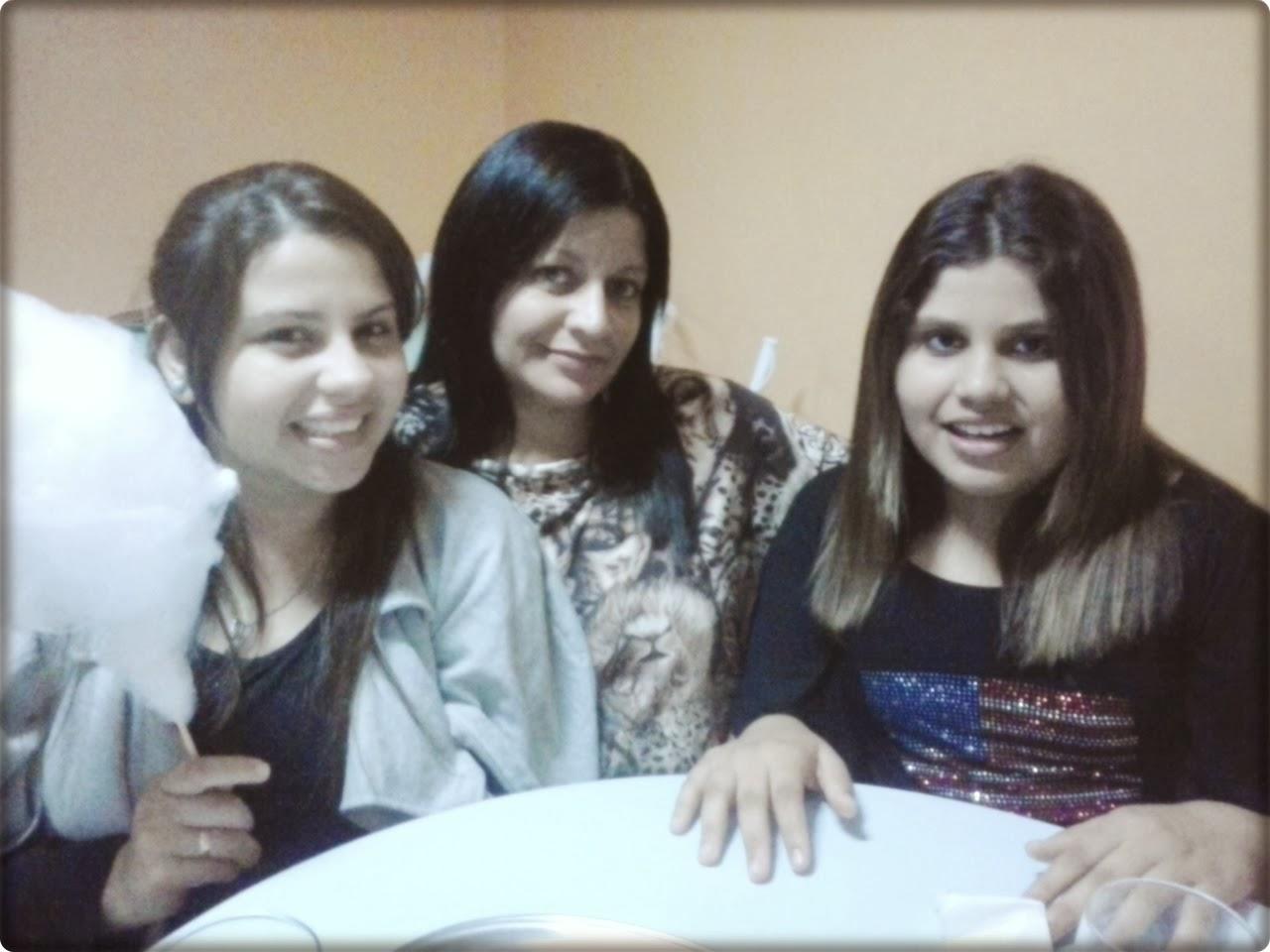 O trio...