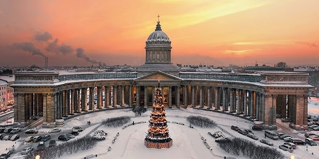photos of Kazan Cathedral in St.Petersburg