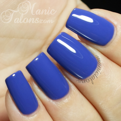 IBD Just Gel Bardot Indigo Swatch