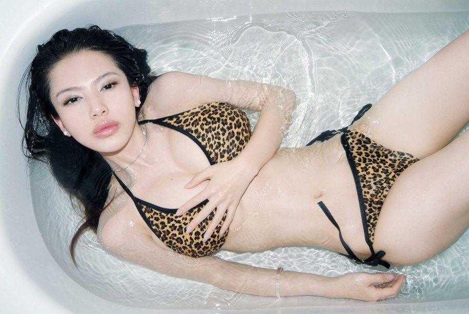 mavis pan shuangshuang sexy naked bikini photos 05