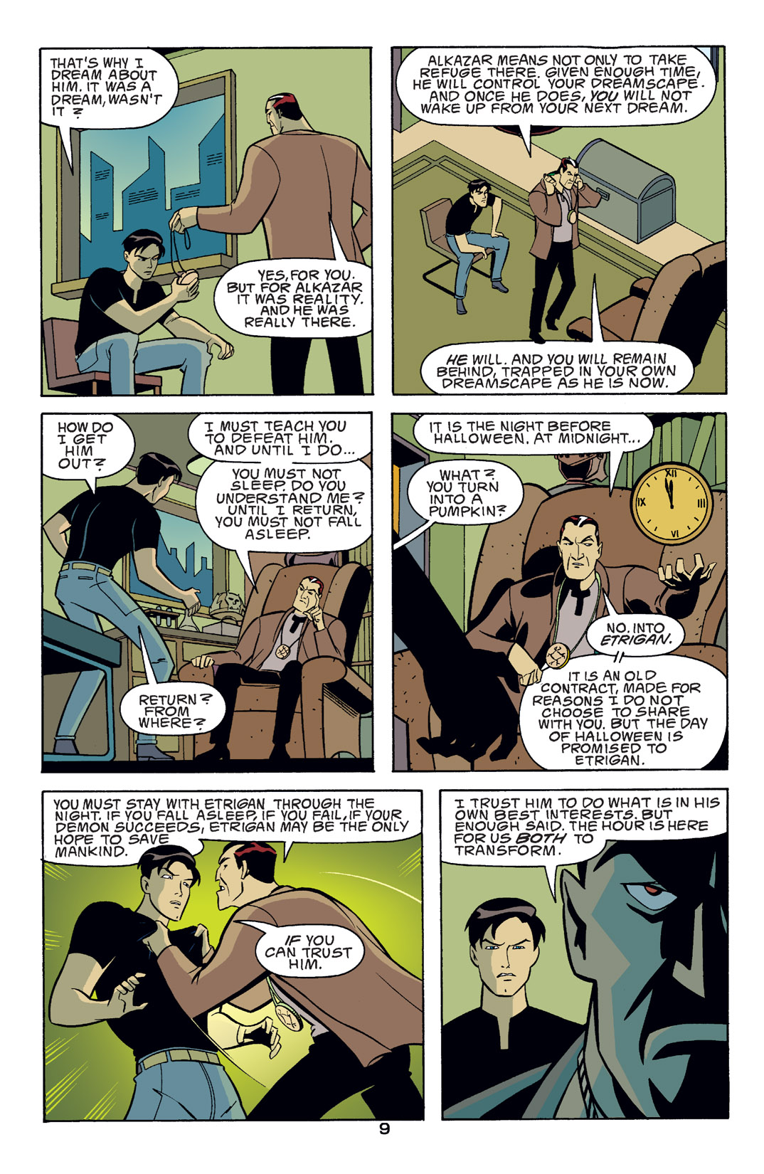 Batman Beyond [II] Issue #14 #14 - English 10
