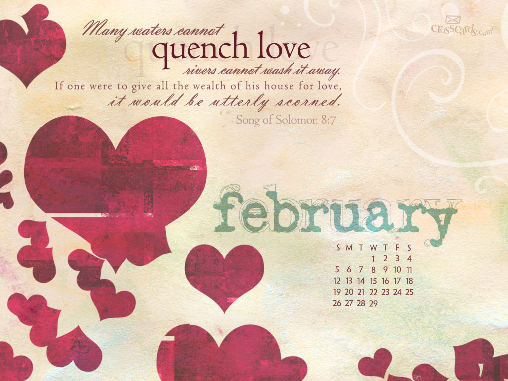 February Wallpaper 2012 Smashing