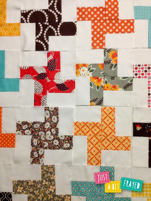 Scrappy Pinwheel Blocks - Tutorial on Blog