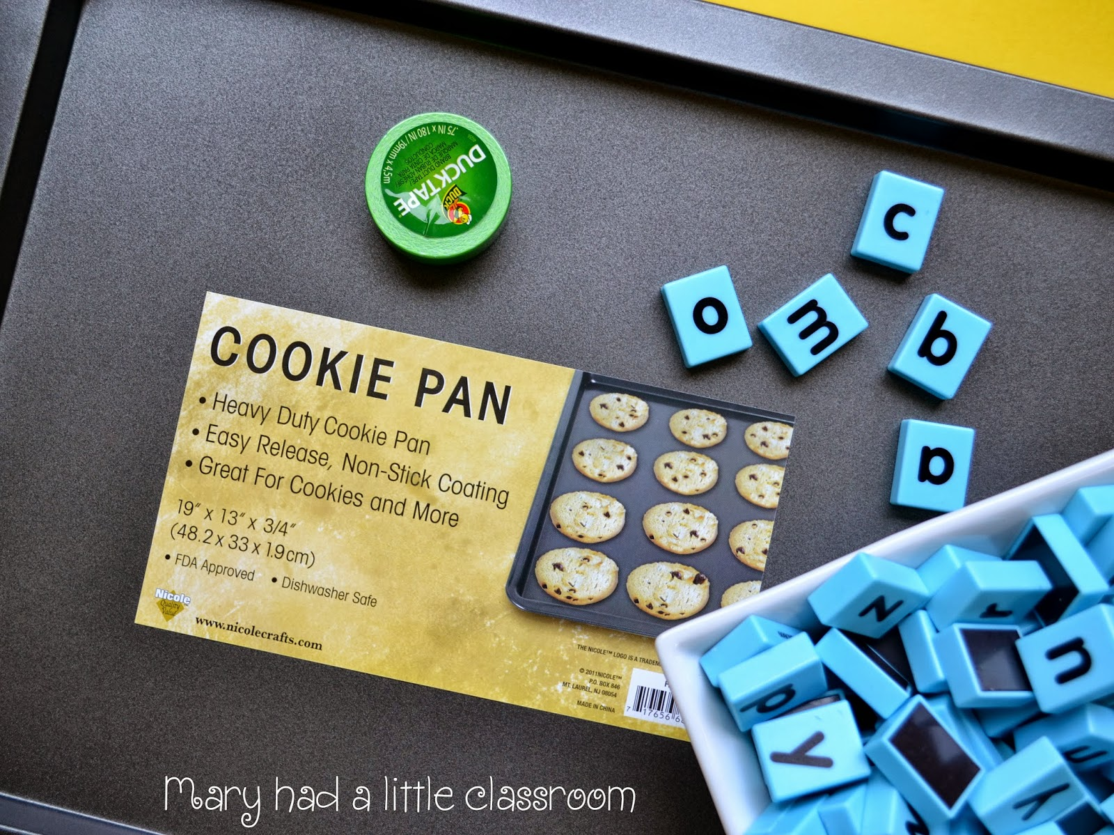 Mary Had A Little Classroom A Great Way To Use Magnetic Letters For
