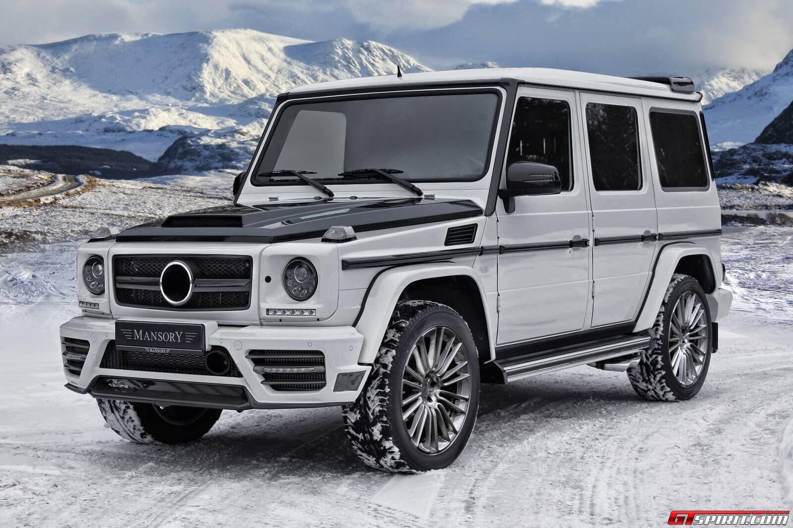 Mercedes benz w463 g class mansory benztuning for 2013 mercedes benz g class