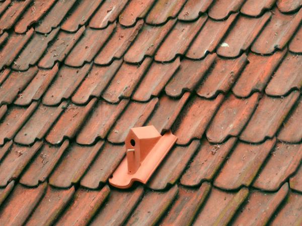 Къщичка за птици - керемиди