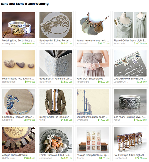 sand and stone etsy treasury