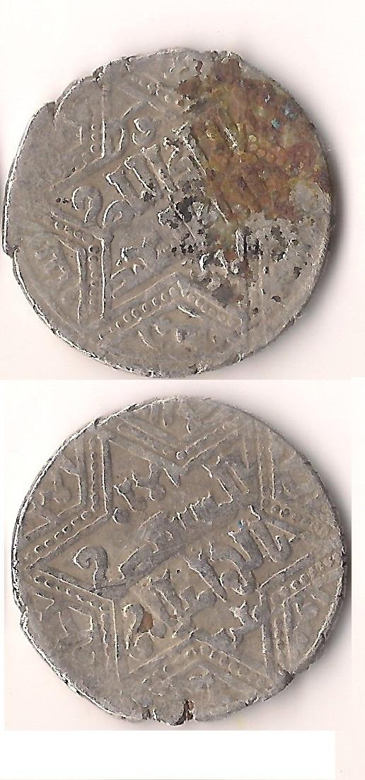 Al-Nâsir Salâh al-Dîn Yûsuf II ibn al ´Azîz Muhammad.ceca Alepo. 642H? Artuq+8