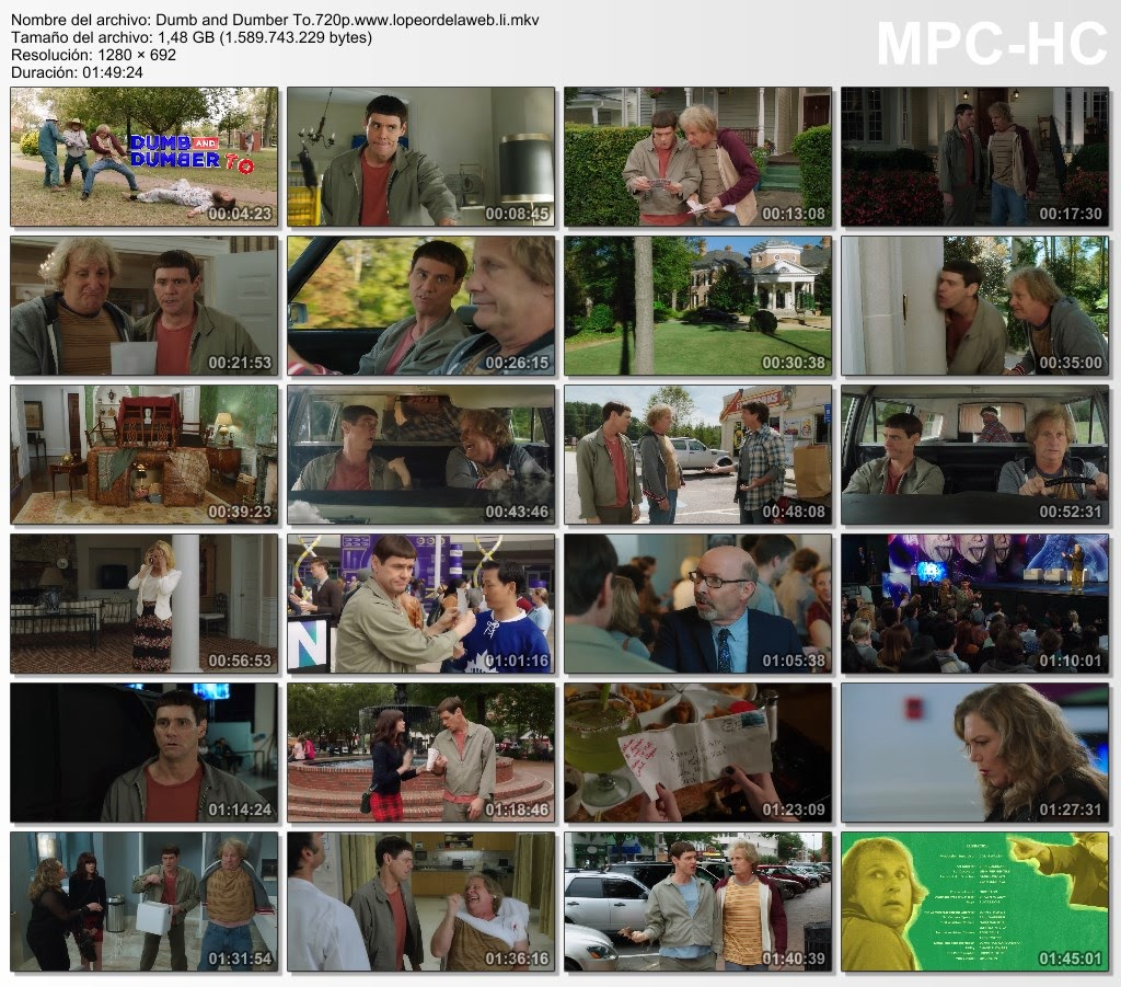 Tonto y Retonto 2 (2014) WEB-DL 720p Latino-Ingles