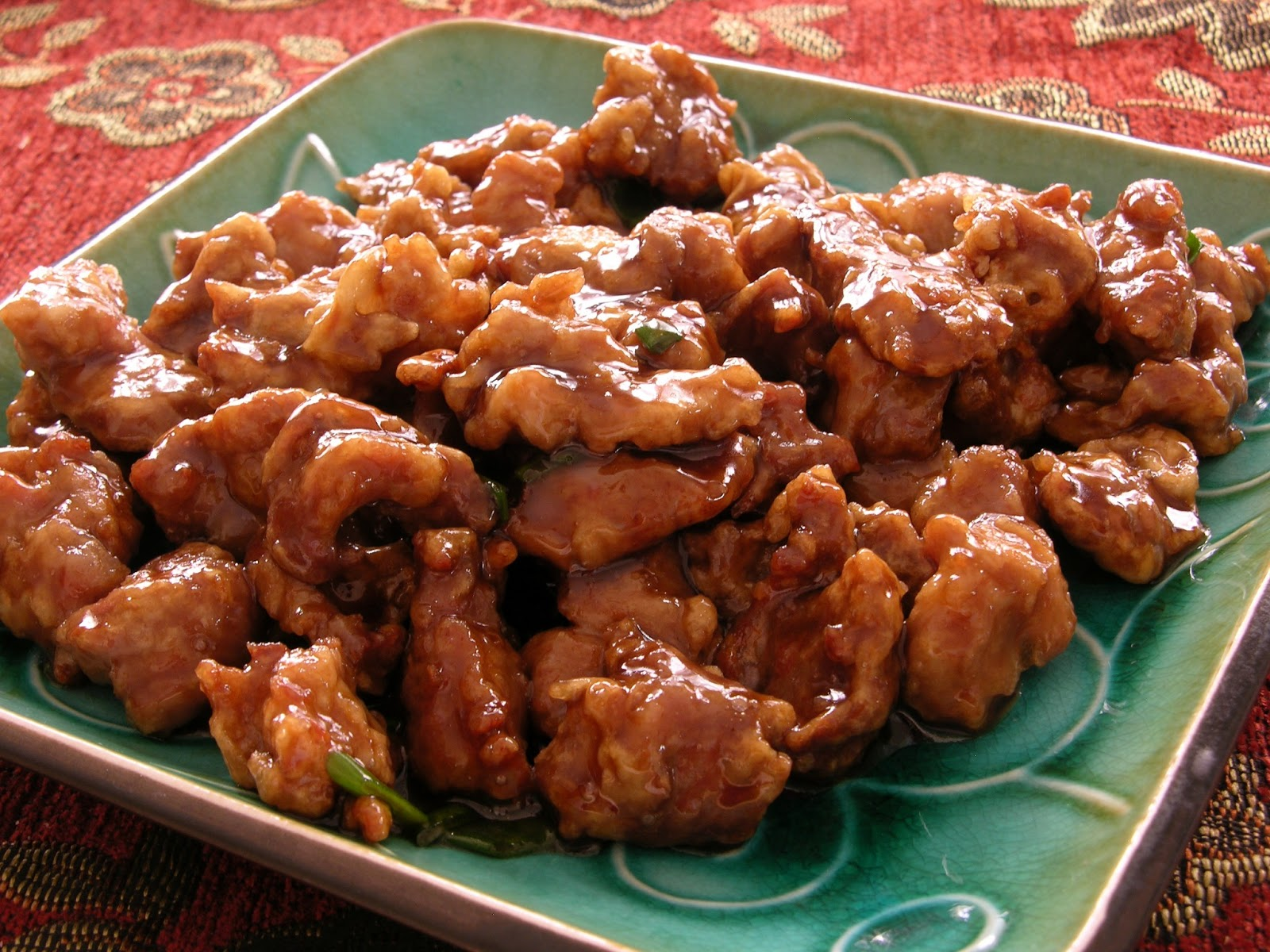 Cooking a Chinese dish - pork in batter 78