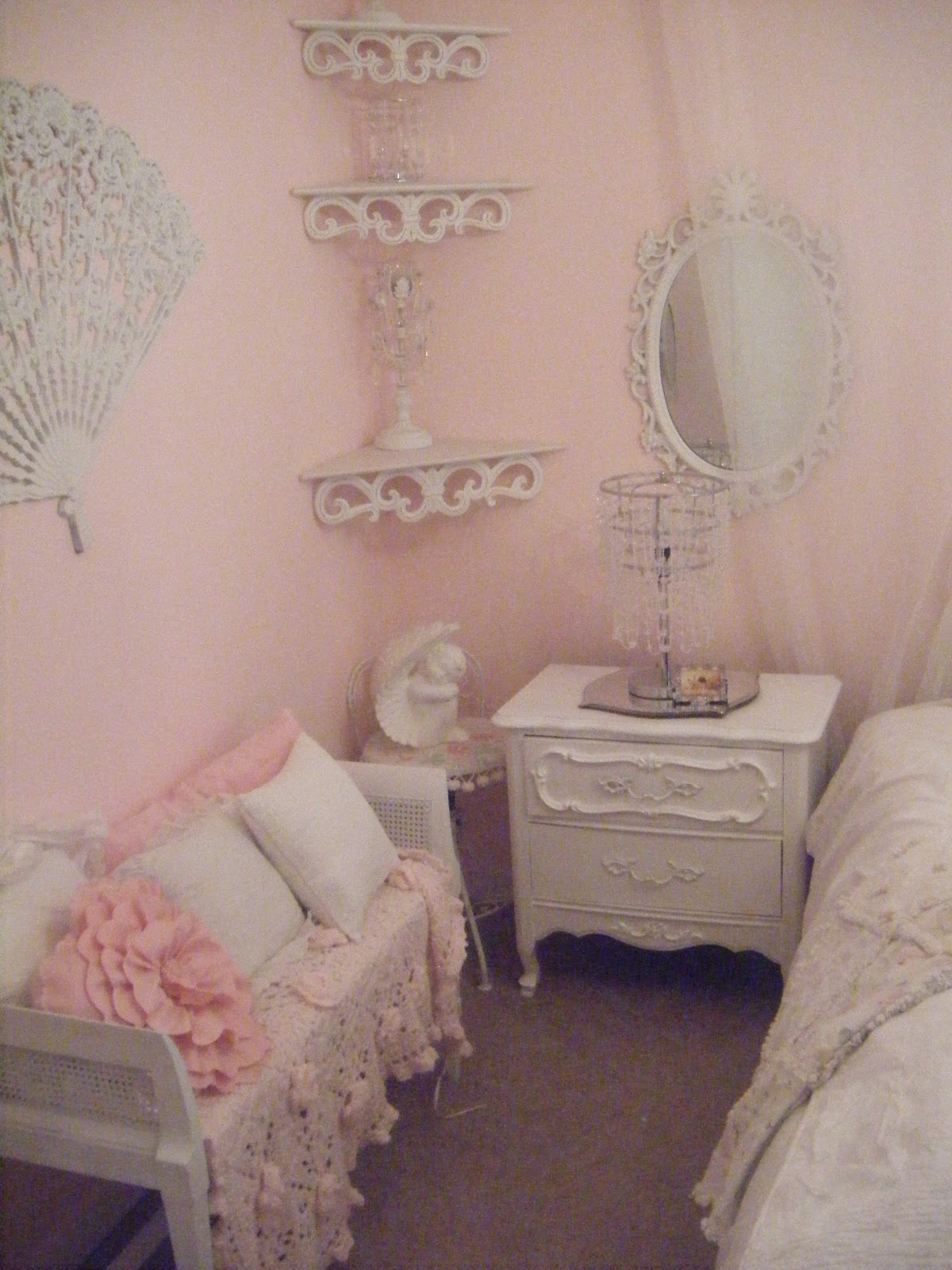 Not So Shabby Shabby Chic My Beautiful Bedroom