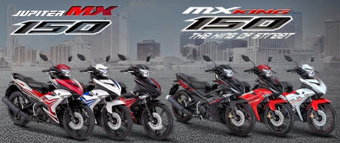 Jupiter MX King 150 dan Jupiter MX 150