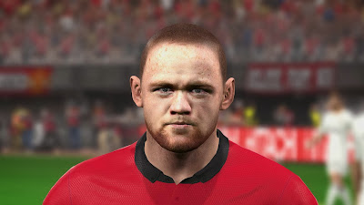 PES 2014 Wayne Rooney Face by Zimon