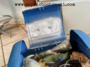 maleta feita com galão vazio, reciclagem, reutilização