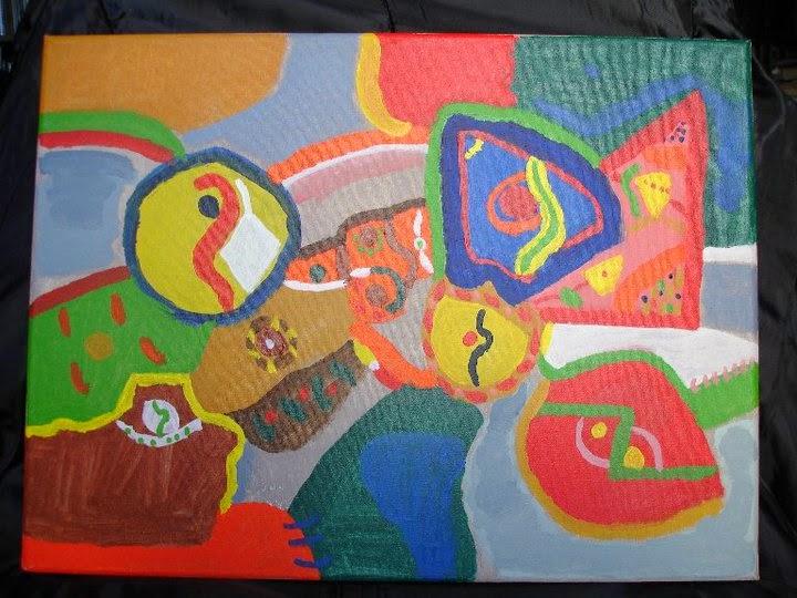 Ines Nigro Painting