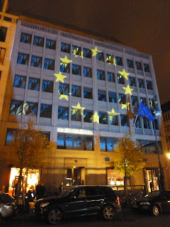 festival of lights, berlin, illumination, 2012, Europahaus