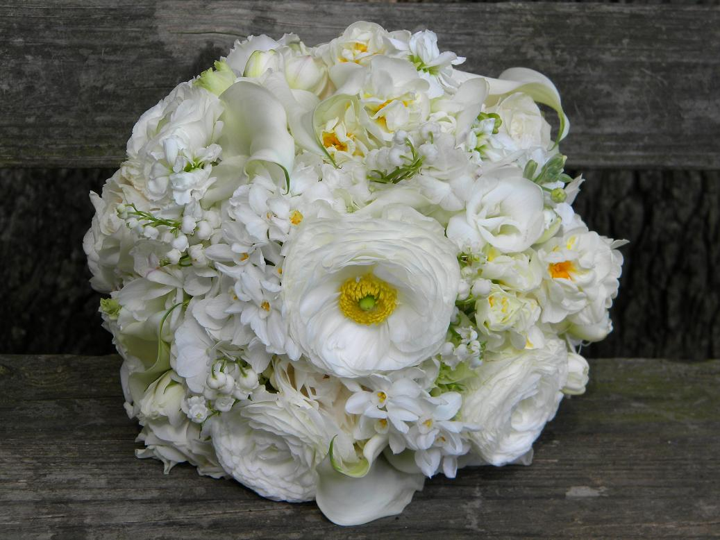 Wedding Flowers From Springwell Springtime Wedding Flowers White