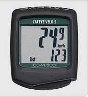 pasar sepeda: Digital Speedometer CATEYE VELO 5 Murmer