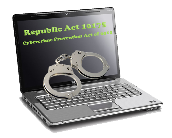 cybercrime prevention act of 2012 The cybercrime prevention act of 2012 (ra 10175) was signed into law by president benigno s aquino iii on sept 12, and took effect on oct 3 it penalizes (1.
