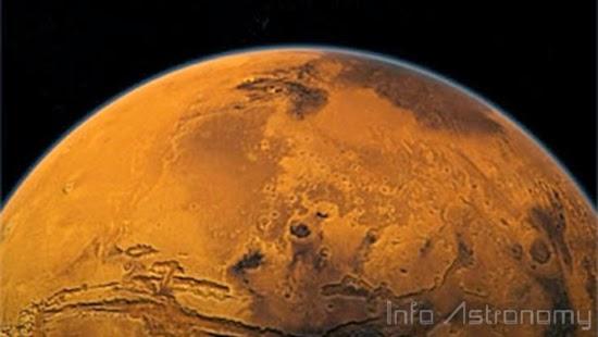 """Planet Mars telah kiamat, dan Bumi segera menyusul."""