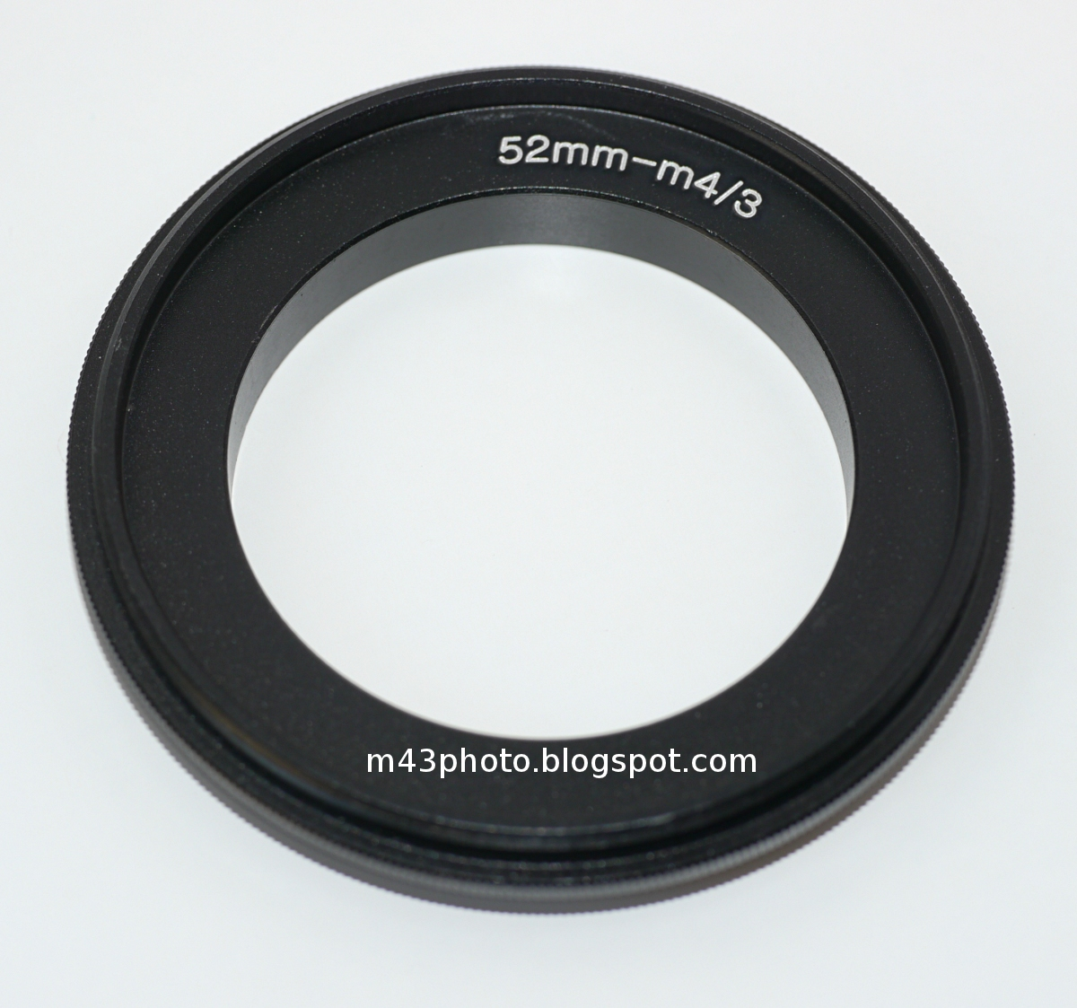 Micro 4 3rds Photography Reverser Ring For Macro Lens Hood Cameras 52mm Screw Mount On The Other Side It Has A Thread