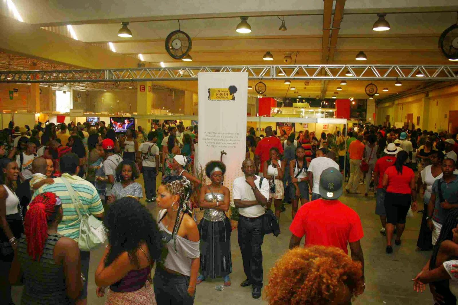 Feira Preta maior evento afro
