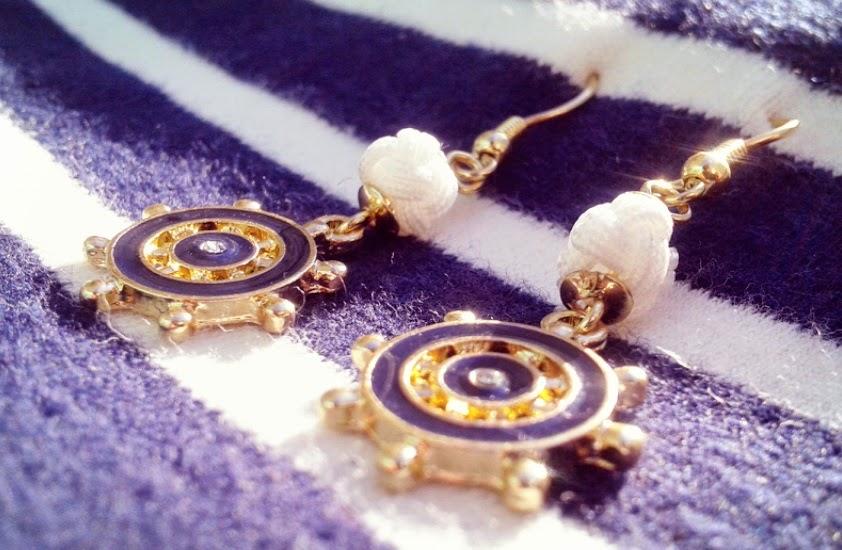 Boucles d'oreille marin Six Accessories Bijoux Mode Concours
