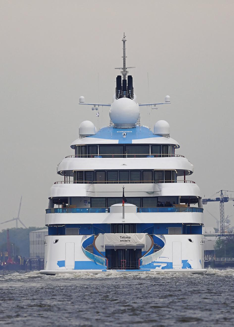 GOLDEN ODYSSEY Megayacht