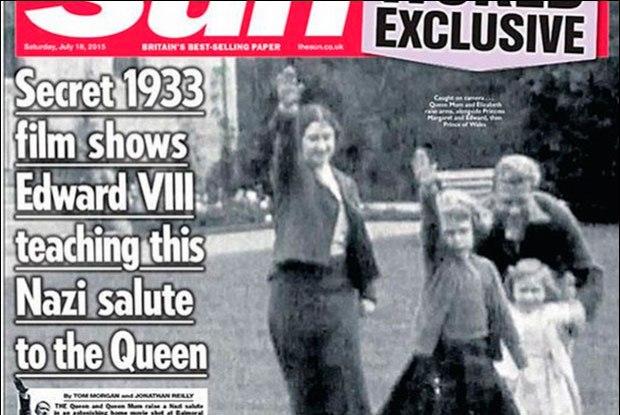 Saudação nazista de Elizabeth 2ª gera polêmica no Reino Unido