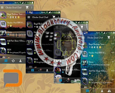 BBM MOD Pro Fiture Clone anda Not Clone 4 Themes in 1 V2.9.0.45