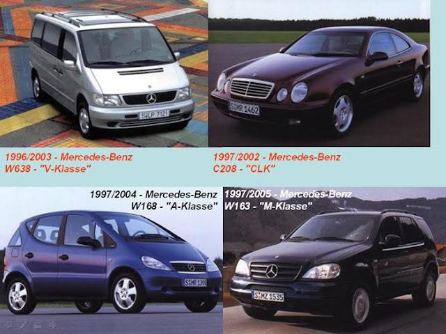 1996 Mercedes Benz W638 V