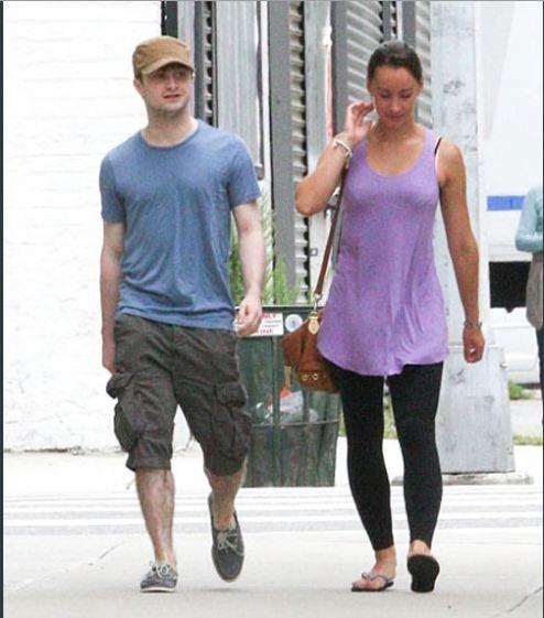 Daniel Radcliffe Girlfriend Rosie Coker Pictures 2012 ...