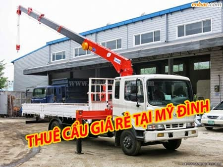 cho thuê xe cẩu 5 tấn
