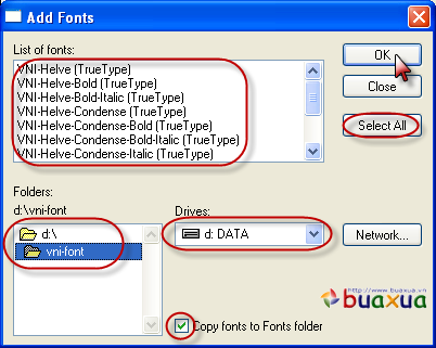 how to add fonts to paint.net windows 8