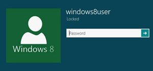 Windows 8 Password Login Bypass