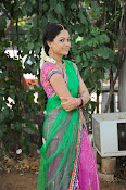 Actress Anjali Rao in Half Saree-thumbnail-16
