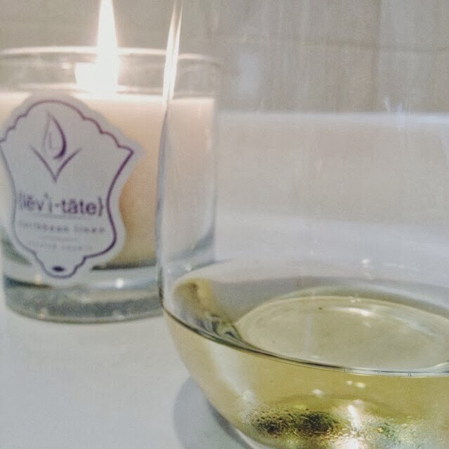 candle, wine, bath, relax, thankful