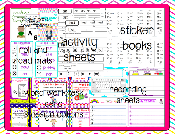 http://www.teacherspayteachers.com/Product/Ultimate-Sight-Word-Activity-Pack-Aligned-w-PP-3rd-Grade-Dolch-Lists-364209