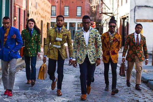 Men's 2014 New Style Ankara