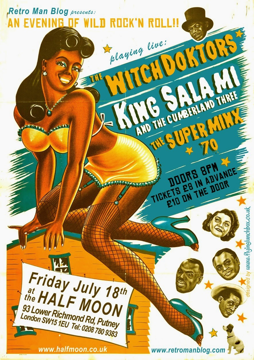 The WitchDoktors + King Salami & The Cumberland 3 + The SuperMinx'70