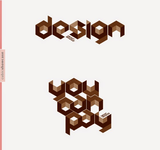 Cube 02 creative Font